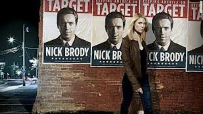 Claire Danes and Damian Lewis (on poster) return for season two of the new best drama on television, Showtime's 'Homeland'