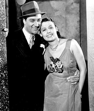 "Ralph Cooper and Horne in 1938's ""The Duke Is Tops."" Horne's mother pushed her daughter to quit school at 16 and go into show business at Harlem's Cotton Club. Horne, who broke racial barriers as a Hollywood and Broadway star famed for her velvety rendition of ""Stormy Weather,"" has died at 92."