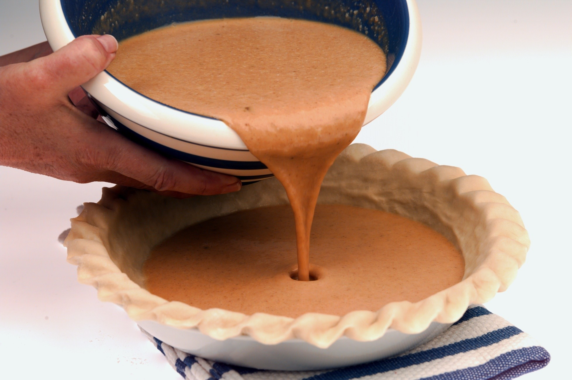 Photos: 97 great Thanksgiving recipes - Bruleed pumpkin pie