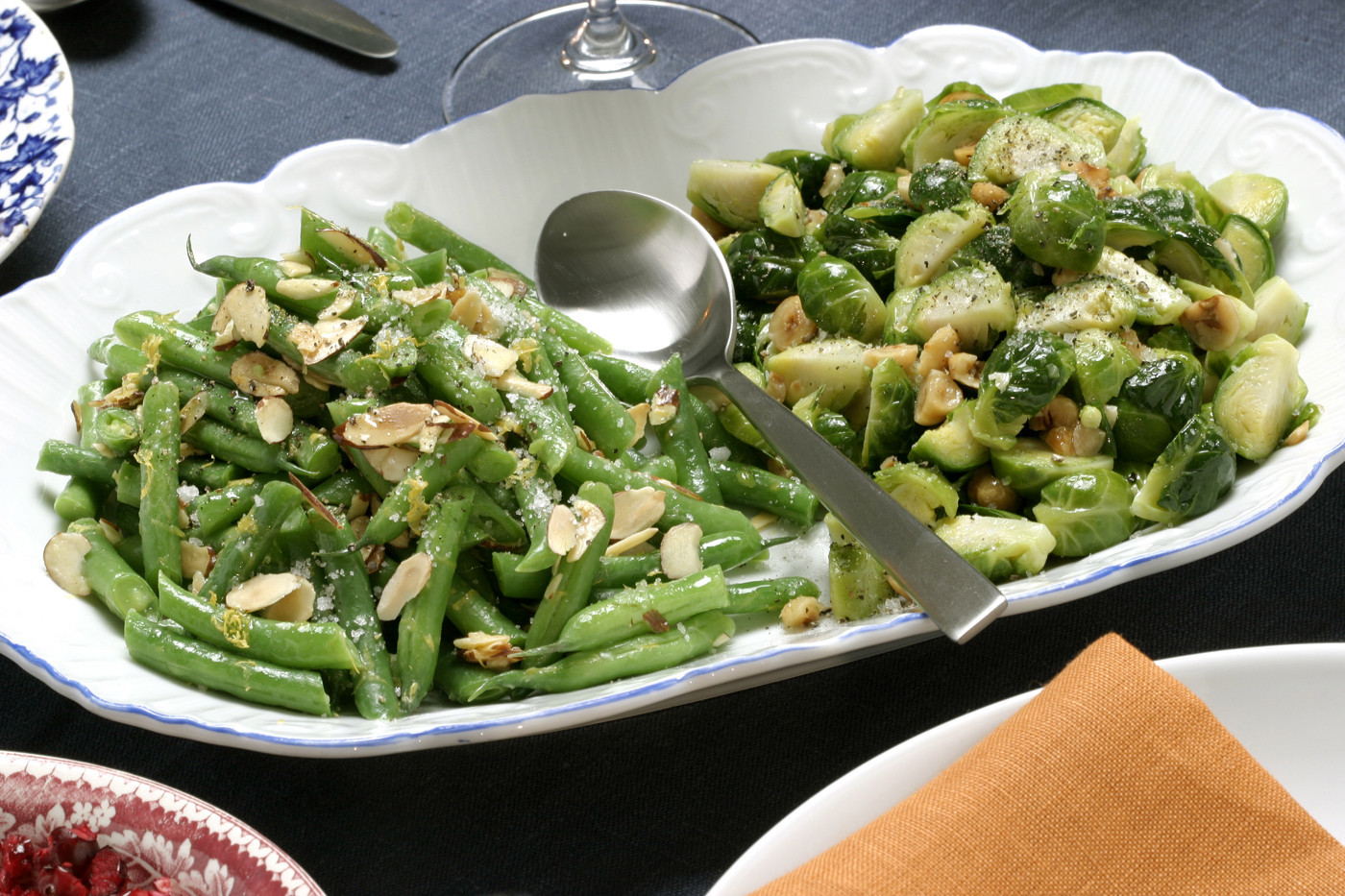 Photos: 97 great Thanksgiving recipes - Meyer lemon green beans with almonds