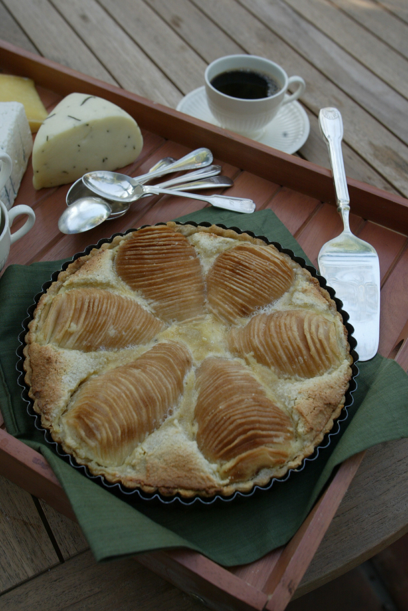 Photos: 97 great Thanksgiving recipes - Pear frangipane tart