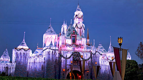 Sleeping Beauty Winter Castle at Disn
