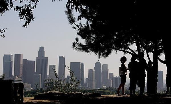"Elysian Park was the sixth busiest site for on location filming in 2012, generating 136 production days, according to FilmL.A. Inc. Projects included ""Raging Bull II"" and the TV drama ""Touch."""