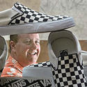 Steve Van Doren at Vans headquarter in Cypress