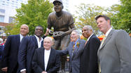 As Orioles, fans honor Brooks Robinson, all he can do is offer thanks