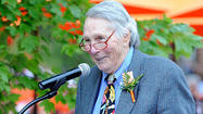 <strong>Following is a transcript of Brooks Robinson's speech at his sculpture unveiling ceremony Saturday at Camden Yards.</strong>