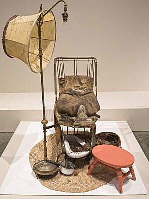 <b>MAKING A STATEMENT:</b> Ed Kienholz 's 1962 work 'The Illegal Operation'  was purchased by LACMA for about $1 million.
