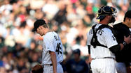 As Rays first baseman Carlos Pena caught the White Sox's final out of a demoralizing 10-4 loss Saturday at U.S. Cellular Field, a particularly fed-up fellow unleashed frustration that echoed from an empty stadium throughout the South Side.