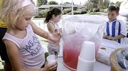 Photo Gallery: Aleyna's lemonade stand