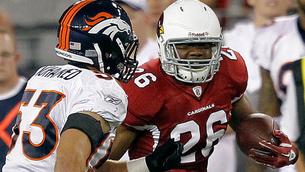 Denver Broncos linebacker Mike Mohamed (left) was not only re-signed by the Broncos but also activated for today's game against the Oakland Raiders, all in a span of five days.
