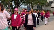 "<span style=""font-size: small;"">ST. JOSEPH, Mich. – Over 100 people in southwest Michigan put on some pink and walked along the beaches to support Breast Cancer Awareness month.</span>"