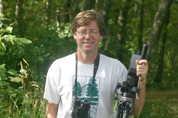 David Sibley is a noted birder and author of birding guides.