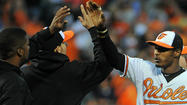 Adam Jones talks about winning Most Valuable Oriole award