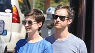 "<a href=""http://people.zap2it.com/p/anne-hathaway/205765"">Anne Hathaway</a>'s next movie is ""Les Miserables,"" but the guess here is she's the opposite of that right now -- because she got married Saturday (Sept. 29)."