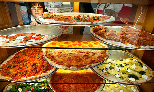 Plenty to choose from at Vito's Pizza.