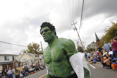 the parade at the 44th annual Southington Apple Harvest Festival Sunday.