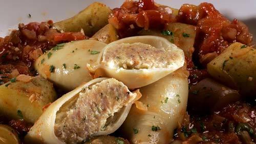 Spicy Stuffed Squid Recipe — Dishmaps