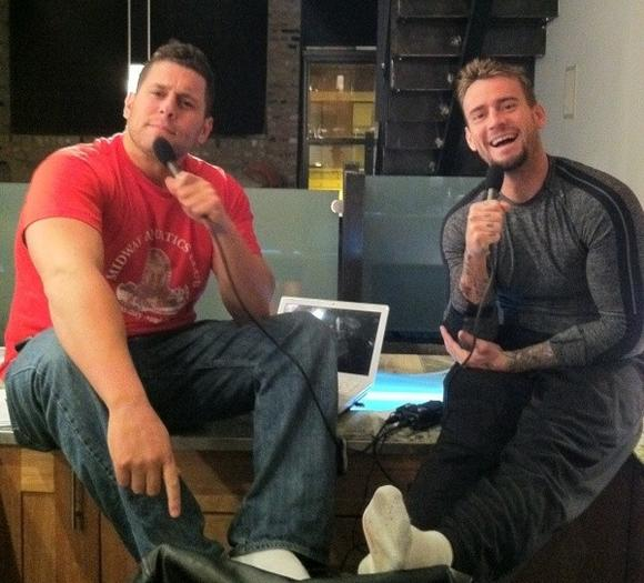 Colt Cabana and CM Punk