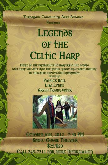 Legends of the Celtic Harp Flyer