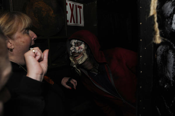 Trail of Terror has been named among the best seasonal haunted houses  in New England.