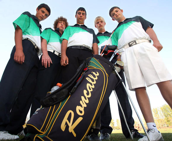 Roncalli boys' golf team