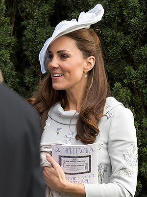 Kate Middleton Attends Family Friend's Wedding