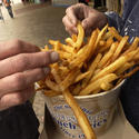 Ocean City: Boardwalk fries at Thrasher's