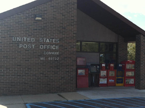 The Conway Post Office, seen here, is one of the several area post offices that could see a reduction in hours.