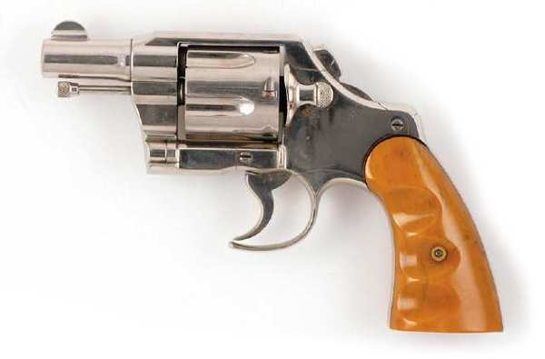 A Colt Army Special .38-caliber revolver is one of several guns used by Clyde Barrow during his lifetime.