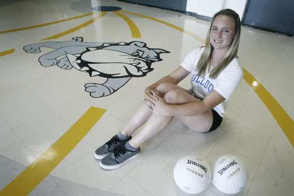 Senior Katie Hooper is a three-sport standout at Burbank High.