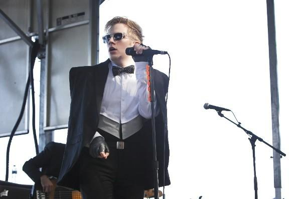 Patrick Stump performs at Lollapalooza in Grant Park August 6, 2011.