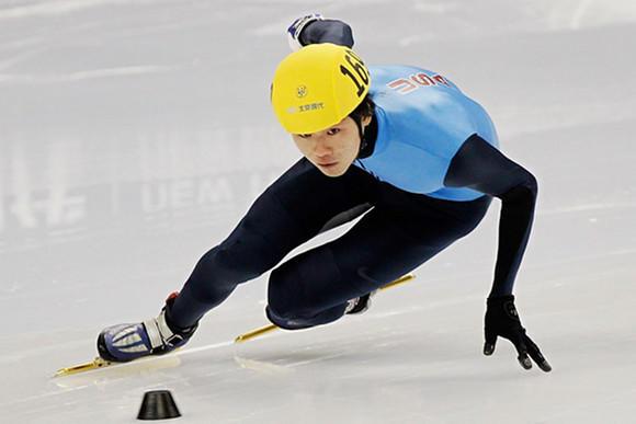 Simon Cho at the 2012 World Championships.  (Lintao Zhang/Getty Images)