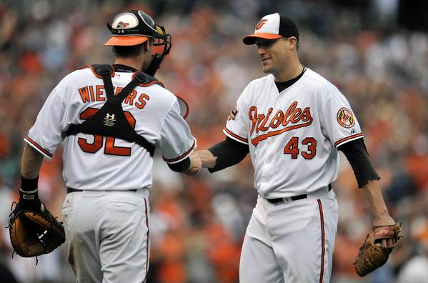 As of Monday, the Orioles are 28-9 in one-run games and 16-2 in extra innings.  <br><br> Those marks simply would not have been possible without a shutdown back of the bullpen, which is just what the Orioles have. Setup man Pedro Strop has been struggling with control issues since August, but the core group of closer Jim Johnson (above, right) and relievers Luis Ayala and Darren O'Day has continued to be superb. Any October run requires lockdown pitching in late innings, and the Orioles have that in spades. If Strop can return to form, watch out.