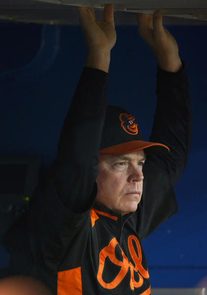 Before his arrival in Baltimore, the story with Showalter was he would build a team toward a title and then be shown the door right before the championship season. It happened first with the New York Yankees and again with the Arizona Diamondbacks. Ever since he came to the Orioles in 2010, Showalter has endeared himself to this town with his no-nonsense attitude and desire to return Baltimore to the winning tradition of yesteryear.  <br><br> By all accounts, including the win-loss column, the team has bought in.