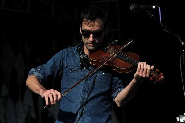 Andrew Bird performs at a sold-out show at the Fifth Third Bank Ballpark in Geneva Sunday July 8, 2012. (Armando L. Sanchez/Chicago Tribune)