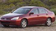 Honda is recalling more than 500,000 of its popular Accord vehicles because of a potential fire risk in their engines.