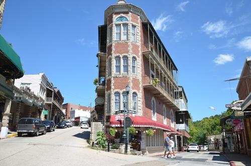 Downtown Eureka Springs, Ark.