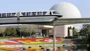 Disney World fans and officials marked the 30<sup>t</sup><sup>h</sup> birthday of Epcot with low-key celebrations at the theme park on Monday.