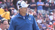 It was a tough day for the Indianapolis Colts as the team and fans learned head coach Chuck Pagano is battling cancer.