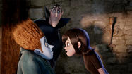 "I have a feeling that ""Hotel Transylvania"" is going to become a Halloween institution. Not because it's in any way a good movie (it isn't), but because of its cast of characters."