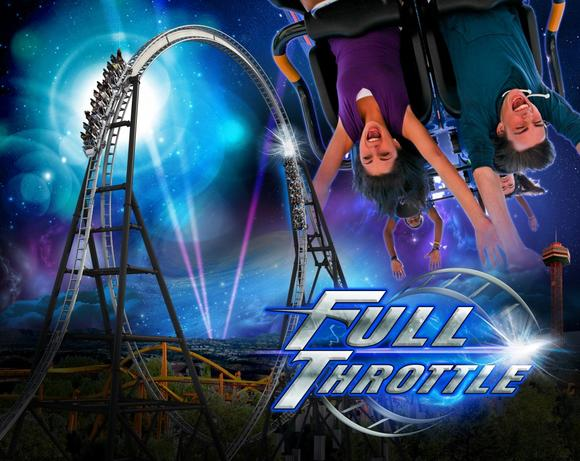 Full Throttle looping coaster