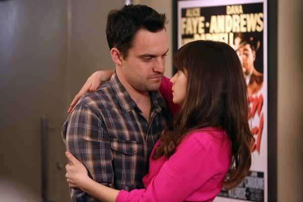 "Pretending to be the son of a presidential candidate, Schmidt (Max Greenfield) hopes to woo a beautiful Republican in a new episode of the comedy ""New Girl"" at 9 p.m. on Fox. With Hannah Simone."