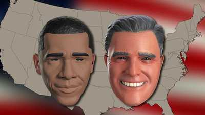 Halloween mask sales may predict election