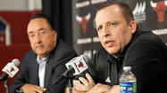After an offseason of change, the Bulls opened training camp Monday with a declaration of continuity: Coach Tom Thibodeau received a four-year contract extension.