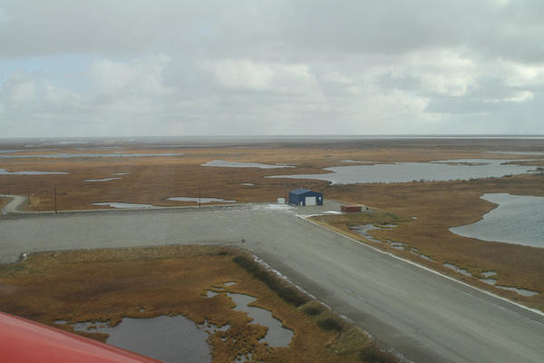 The Alaska Dept. of Transportation and Public Facilities began the project in 2002 and work was completed in Sep. 2012 with a price tag of $33 million with funding by the Federal Aviation Administration.