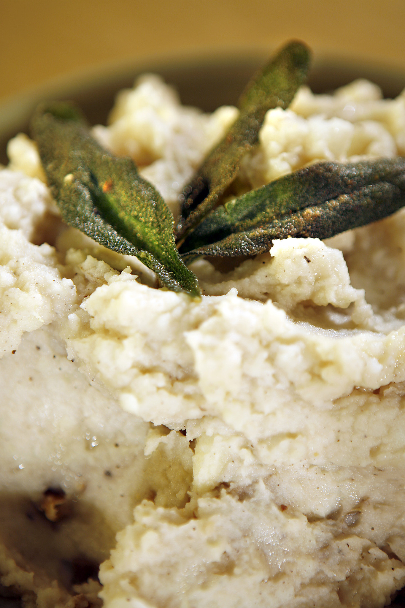 Photos: 97 great Thanksgiving recipes - Brown butter mashed potatoes with fried sage