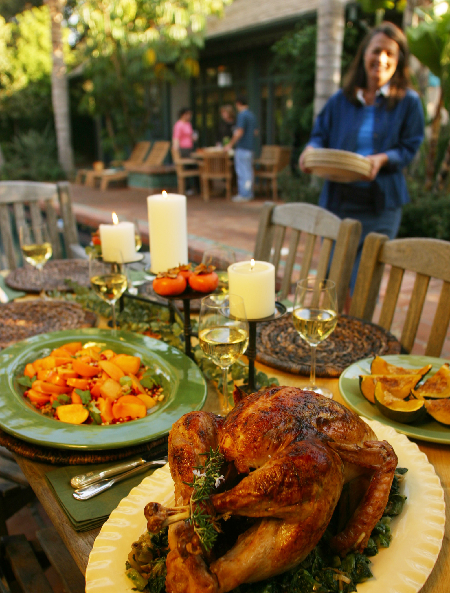 Photos: 97 great Thanksgiving recipes - Rosemary-Meyer lemon turkey with wilted escarole