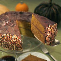 Pumpkin-chocolate cake