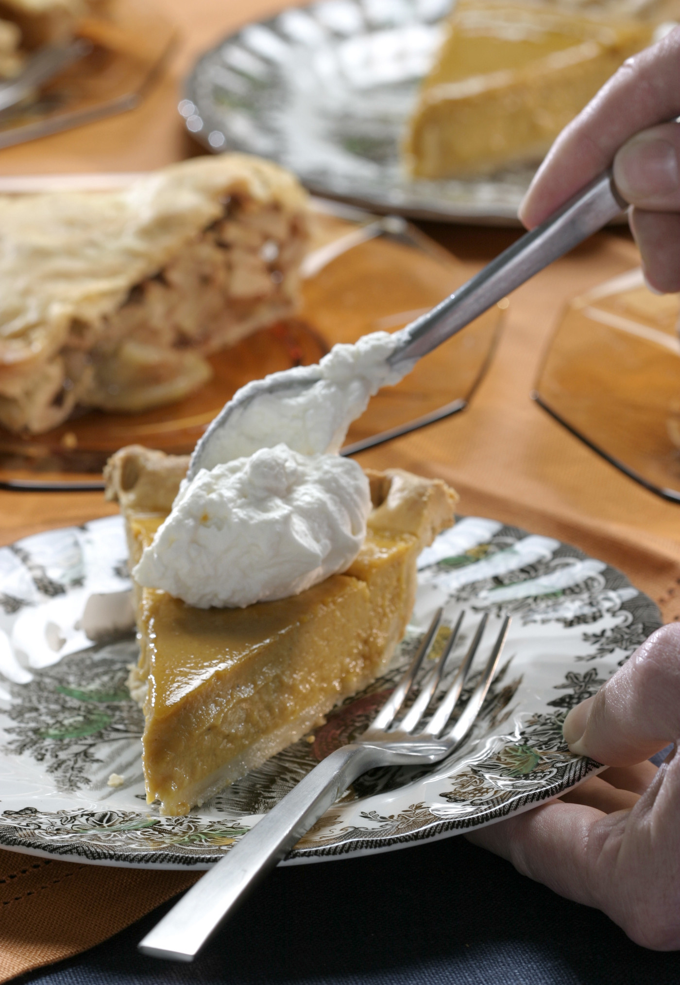 Photos: 97 great Thanksgiving recipes - Pumpkin pie