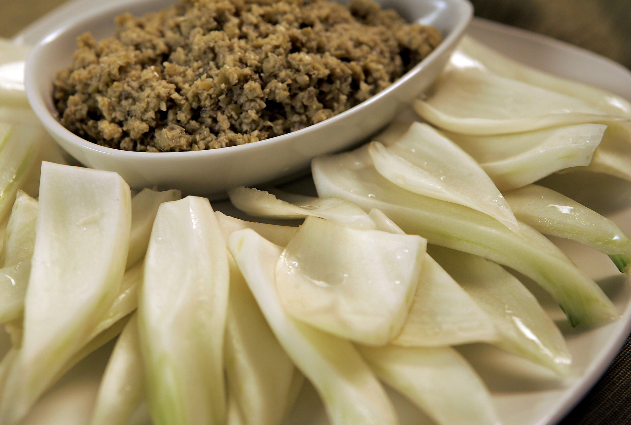 Photos: 97 great Thanksgiving recipes - Fennel with green tapenade